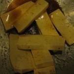Baked Tofu & Cumin Tahini Dressing