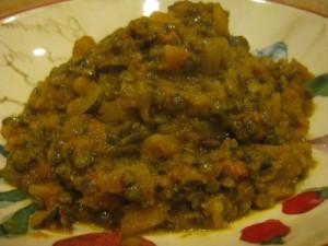 Chipotle & Butternut Lentils