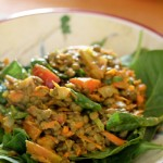 Quick Curried Lentils