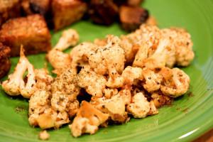 Raw Marinated Cauliflower