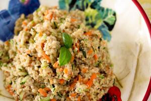 Creamy Balsamic Quinoa
