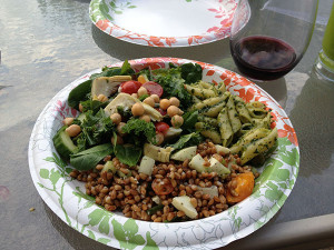 First Race Award and Wheat Berry Salad