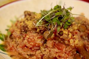 Dijon Asparagus & Quinoa
