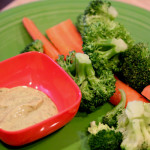 Raw Protein and Dill Dip