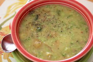 Simple Potato Broccoli Soup