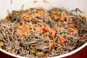 Sauerkraut & Black Bean Pasta