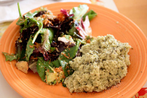 The Fix for Foodies & Pesto Quinoa