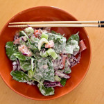 Summery Garlic Hemp Dressing
