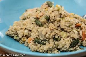 Cilantro Quinoa & Lentils