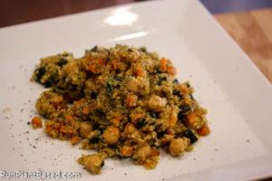 Creamy Dijon Quinoa with Kale