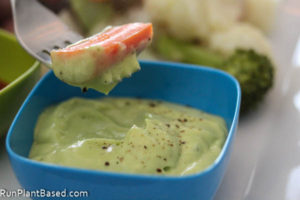 Garlic Avocado Sauce or Dressing