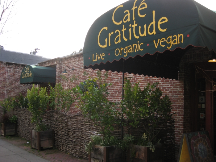 Cafe Gratitude Breakfast Hours