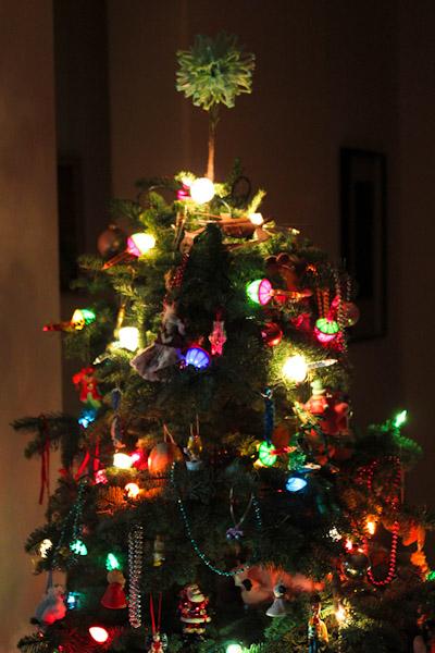 90s Christmas Tree.Creamy Marinara Sauce Run Plant Based