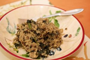 Split Pea Quinoa with Lentils